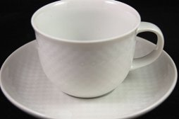 Chess white coffee cup