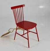 Chair miniature Red