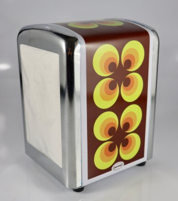 RETRO Servettautomat Gul Orange Brun